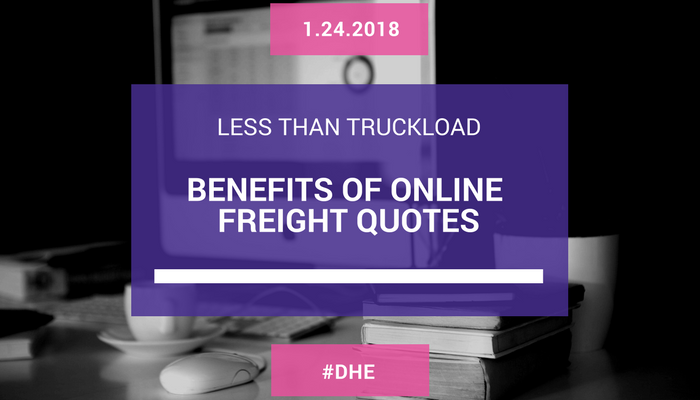 Benefits of Online Freight Quotes