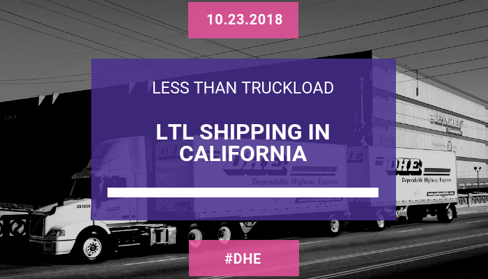 LTL Shipping in California