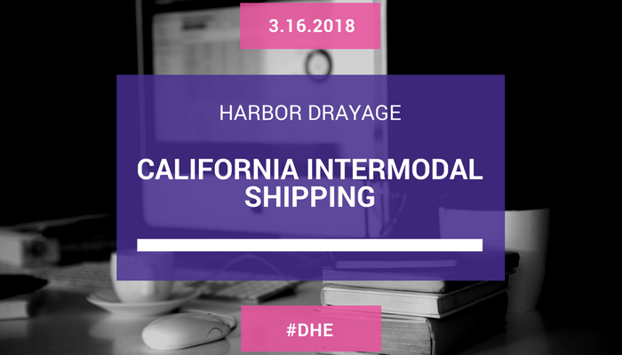 California Intermodal Shipping